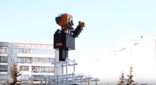 Вождь в духе Minecraft: первый памятник Ленину, который мечтают снести коммунисты