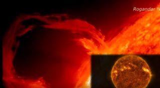 Масштабный «космический шторм» погрузит Землю во тьму