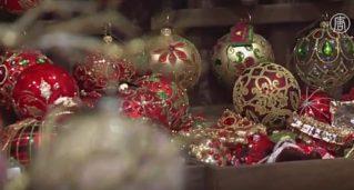 Ёлочные игрушки польских мастеров украшают Белый дом