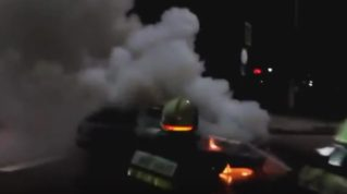 Пожар в Бельцах 04.12.2017