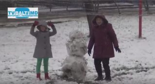 С долгожданным первым снегом- Бельцы