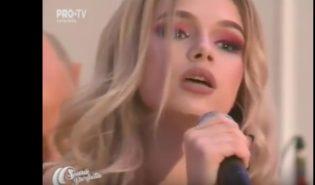 Ева Тимуш — Je T'aime // Празднование 5-летия передачи «O Seara Perfecta»