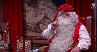 Санта-Клаус в Лапландии готовится к кругосветному путешествию