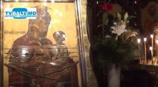 В Бельцы прибыла Чудотворная икона Божией Матери Скоропослушницы из Афона