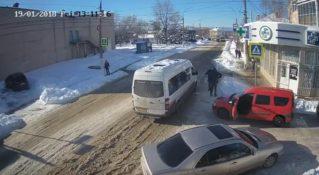Потасовка водителей в Бельцах