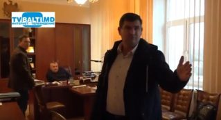 Представители Центра Антикоррупции из Кишинева пришли в кабинет и о примара