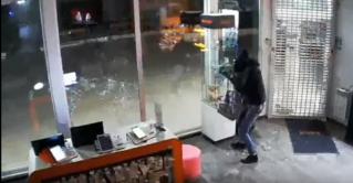 Ограбление магазина в Бельцах