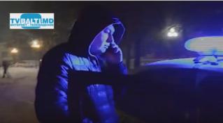 Нарушение ПДД на площади в Бельцах