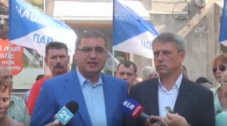 Усатый и Чубашенко дали старт сбору подписей по всей Молдове (03.09.2016)