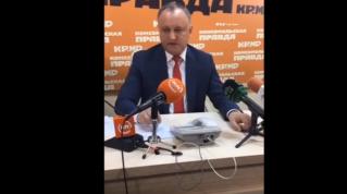 Додон: Знание русского языка для граждан Молдовы – это большой плюс
