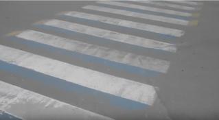 Бельцкие 3D-«зебры» «потеряли» свои полосы.