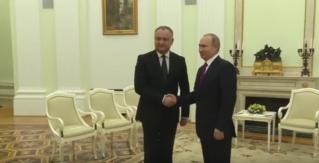 Встреча и совместная пресс-конференция Президента РФ Владимира Путина и Президента РМ Игоря Додона