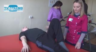 Первое реабилитационное отделение на севере Молдовы в Бельцах