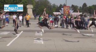Показательные выступления по аэробной гимнастике на День Спортсмена и Олимпийского движения 16 05 17