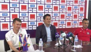 Conferinta de presa FC Zaria in ajunul finalei Cupei Moldovei 2017