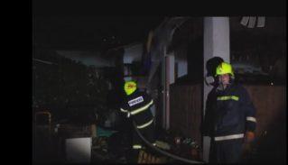 Пожар в Бельцах в жилом доме