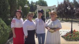 День национального молдавского костюма-2017