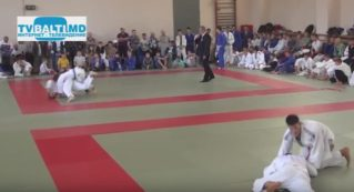 Открытие 15 турнира по дзюдо памяти А Найштут
