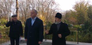 Игорь Додон проверил в Бельцах ход ремонта местной епархии