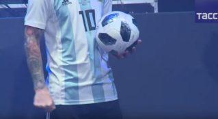 Как выглядит мяч ЧМ-2018 по футболу