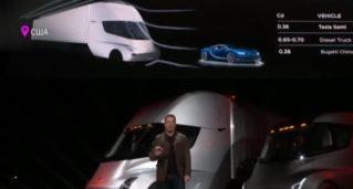 «Тесла» показала новый грузовик без бензина
