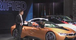BMW представила новый гибридный спорткар