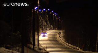 «Умные дорожные фонари» в Норвегии
