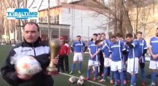 Закрытие турнира по футболу памяти Михаила Ионеску